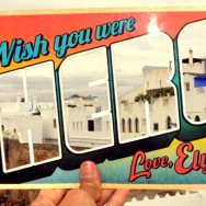 Greetings from Asilah, Morocco