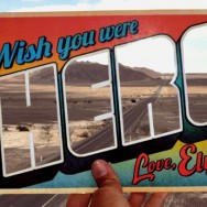 Greetings from PanAmerican Highway, Nazca, Peru