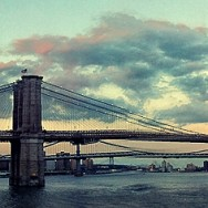 USA - NYC, Brooklyn Bridge