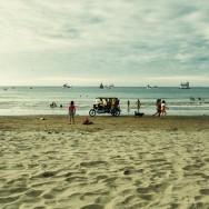 Tuk  Tuk on the beach