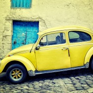 Yellow VW