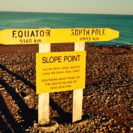 The southernmost point in NZ