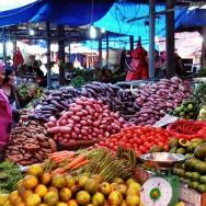 Brastagi's market