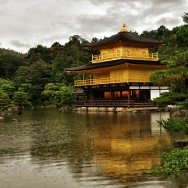 Kinkakuji During A Rainy Day