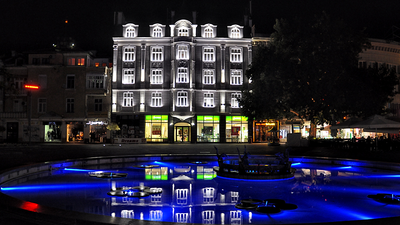 Plovdiv's town square